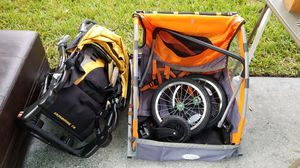 Bike trailer and jogging stroller for Sale in Windermere, FL