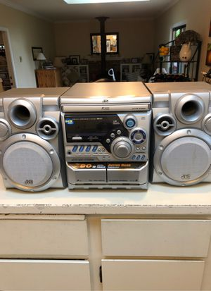 JVC COMPACT COMPONENT SYSTEM for Sale in Woodinville, WA