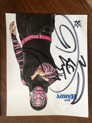 Signed Jeff Hardy Action Figure for Sale in Tempe, AZ