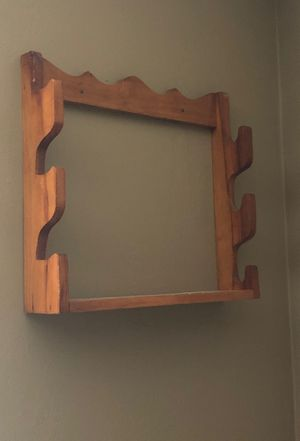 Rifle or fishing pole wall rack for Sale in Miami, FL