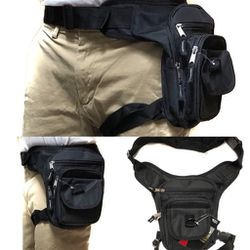 Brand NEW! Black Waist/Hip/Thigh/Leg Holster Style/Pouch/Bag For Traveling/Everyday Use/Work/Outdoors/Hiking/Biking/Camping/Fishing/Sports for Sale in Carson,  CA