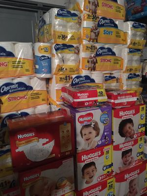 Baby wipes, pull ups, Huggies diapers, Aveeno, cleaning supplies, personal care and much more for Sale in Lehigh Acres, FL