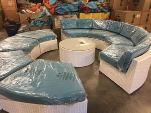 Outdoor wicker patio furniture for Sale in Humble, TX