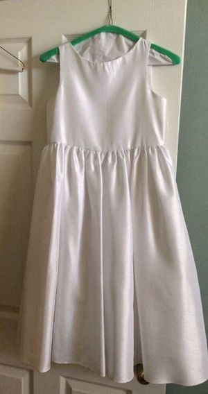 Girls White Flower Girl Bridal Dress - Size 14/16 for Sale in Cape Coral, FL