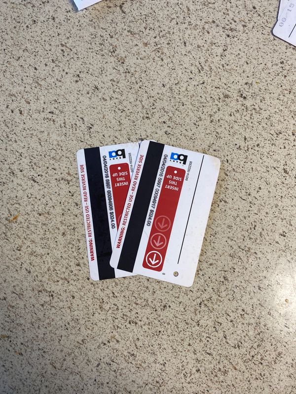Bart ticket $24