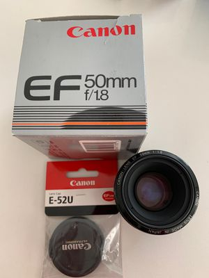 Canon 50mm f1.8 Mark 1 new front cap for Sale in San Jose, CA