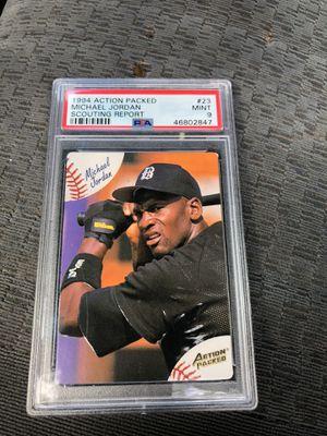 Micheal Jordan baseball mint PSA graded card for Sale in St. Petersburg, FL