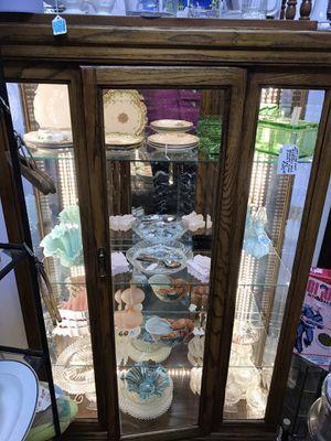 Oak china cabinet for Sale in Livermore, CA
