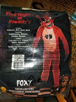 Five nights at freddy's costume for Sale in Seattle, WA