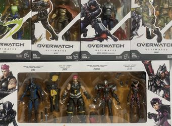 Hasbro Overwatch Ultimates Carbon Series Action & Other Figure 8 Pack Set *NEW* for Sale in Weston,  FL