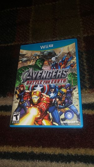 AVENGERS - BATTLE FOR EARTH - (USED) Nintendo Wii U video game for Sale in Stockton, CA