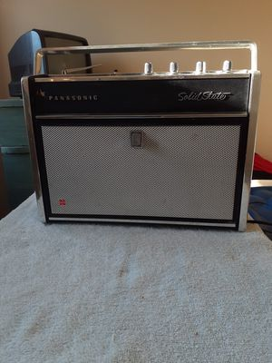Panasonic AM/FM Radio and Phono Player for Sale in Johnson City, TN