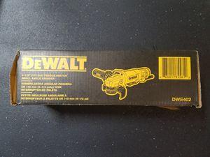 Dewalt Angle Grinder DWE402 for Sale in Oklahoma City, OK