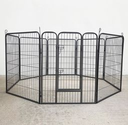 """(New In Box) $110 Heavy Duty 40"""" Tall x 32"""" Wide x 8-Panel Pet Playpen Dog Crate Kennel Exercise Cage Fence Play Pen for Sale in Whittier,  CA"""