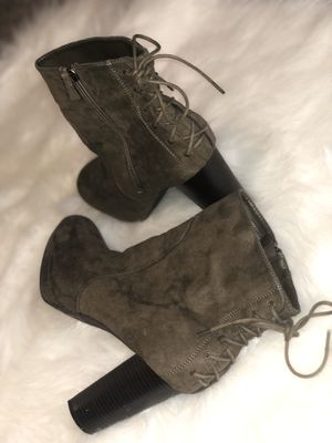 Laced Up Booties for Sale in Wichita, KS