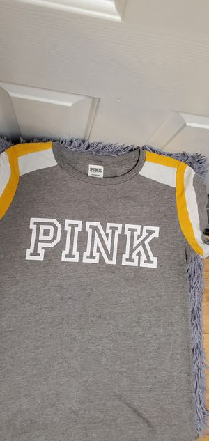 Gently Used Victoria's Secret Pink VS Shirt Top Blouse Small $14.00 for Sale in Gardena, CA
