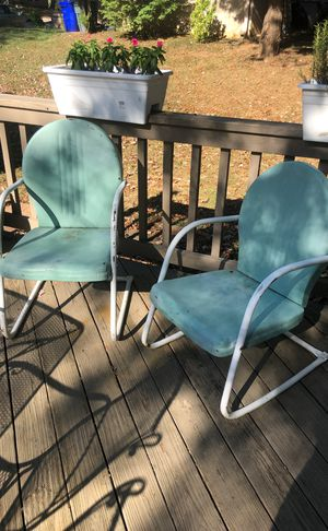 Antique lawn chairs for Sale in Columbia, MD