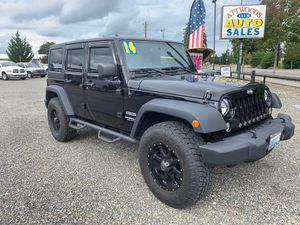 2014 Jeep Wrangler Sport Unlimited for Sale in Yelm, WA