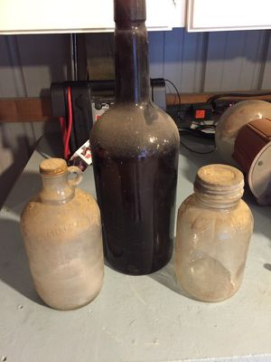 Antique glass bottles for Sale in Raleigh, NC