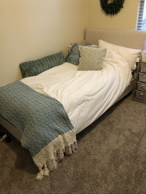 Twin Bed + Frame for $250– originally a $700 value for Sale in San Diego, CA