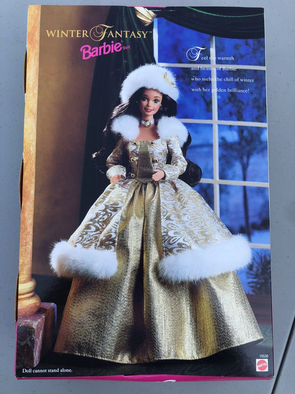 Barbie Winter Fantasy Brunette from 1995 special edition