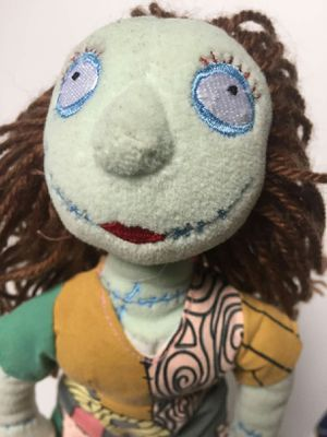 Nightmare before Christmas sally street doll stuffed animal plushie for Sale in San Leandro, CA