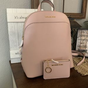 New MK backpack and card holder price firm for Sale in Haltom City, TX
