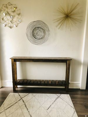 Console table Entry table Sofa table for Sale in Carrollton, TX