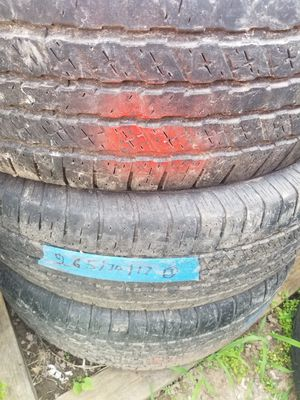 Set of 4used tires size 265/70/17 brand firestone for Sale in Nashville, TN