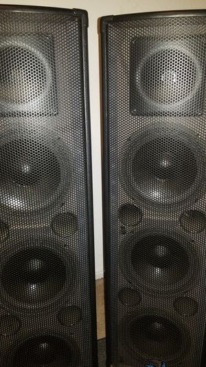dj speakers and lights for Sale in Fresno, CA