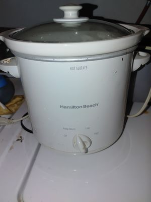 Crock pot- Hamilton Beach brand for Sale in Riverside, CA