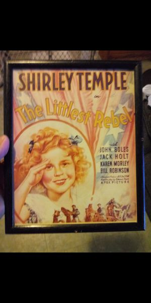 1935 Shirley Temple little rebel picture for Sale in Fontana, CA