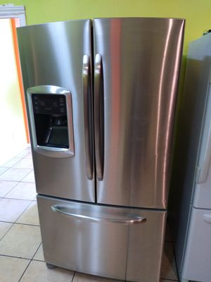 REFRIGERATOR GENERAL ELECTRIC CAFE STAINLESS STEEL FRENCH DOORS WIDE 35 HIGH 68 for Sale in Los Angeles, CA
