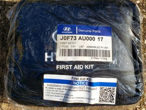 Hyundai First Aid Kit Genuine Parts J0f73 Au000 17 Genuine OEM for Sale in Humble, TX