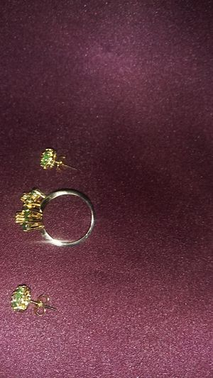 Emerald and diamond set for Sale in Lewisville, TX
