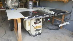 Wood working machines- table saw+ dust collector for Sale in Fort Myers, FL