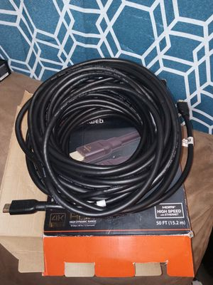 50' hdr 4k HDMI cable for Sale in Wendell, NC