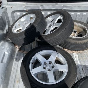Dodge Factory Rims With Tires for Sale in Pompano Beach, FL