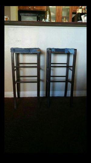 Denim Bar stools for Sale in Las Vegas, NV
