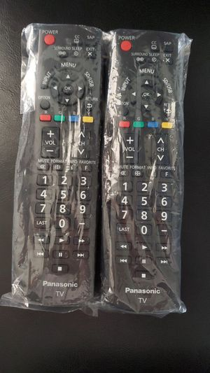 Panasonic tv controllers for Sale in City of Industry, CA