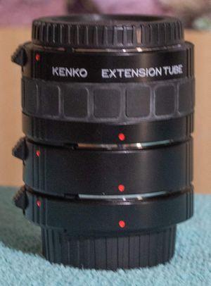 Kenko extension tubes for Nikon for Sale in Tacoma, WA