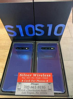 SAMSUNG GALAXY S10 NEVER USED for Sale in Las Vegas, NV