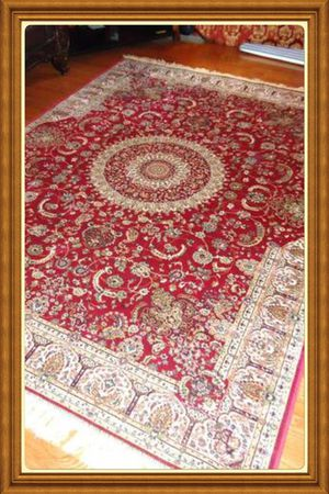 Brand new luxury soft traditional silk Area Rug size 8x12 for Sale in Annandale, VA