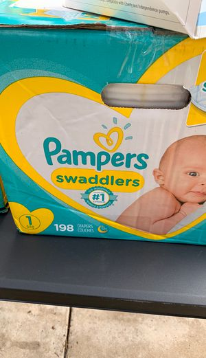 Pamper swaddlers size 1 for Sale in Del Valle, TX