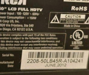 used 50 inch RCA with remote for Sale in Washington,  DC