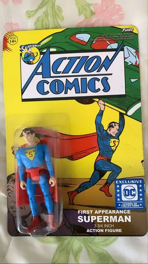 Superman Action Comics First Appearance Action Figure for Sale in Downey, CA