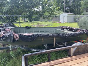 "Boat duck hunting 16' x 48"" for Sale in Hazelwood, MO"