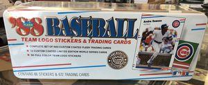 1988 Fleer Glossy Baseball Tin Factory Sealed Sets for Sale in Santa Ana, CA