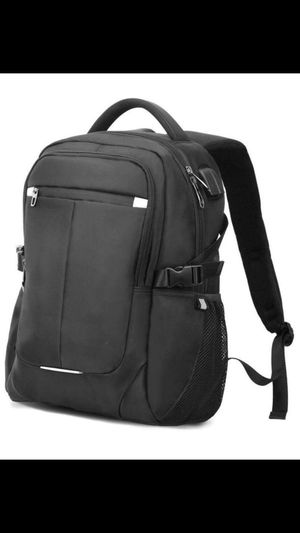 brand new Laptop Backpack with USB Charging Port Fits 15.6 Inch Laptop Notebook for Sale in Hayward, CA
