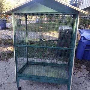 Large Green Bird Cage for Sale in Tampa, FL